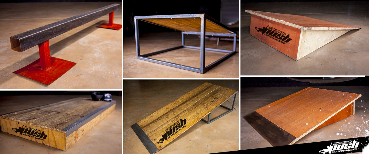Ramps Rails Boxes Custom Obstacles