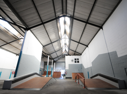 i2B Skatepark - Web